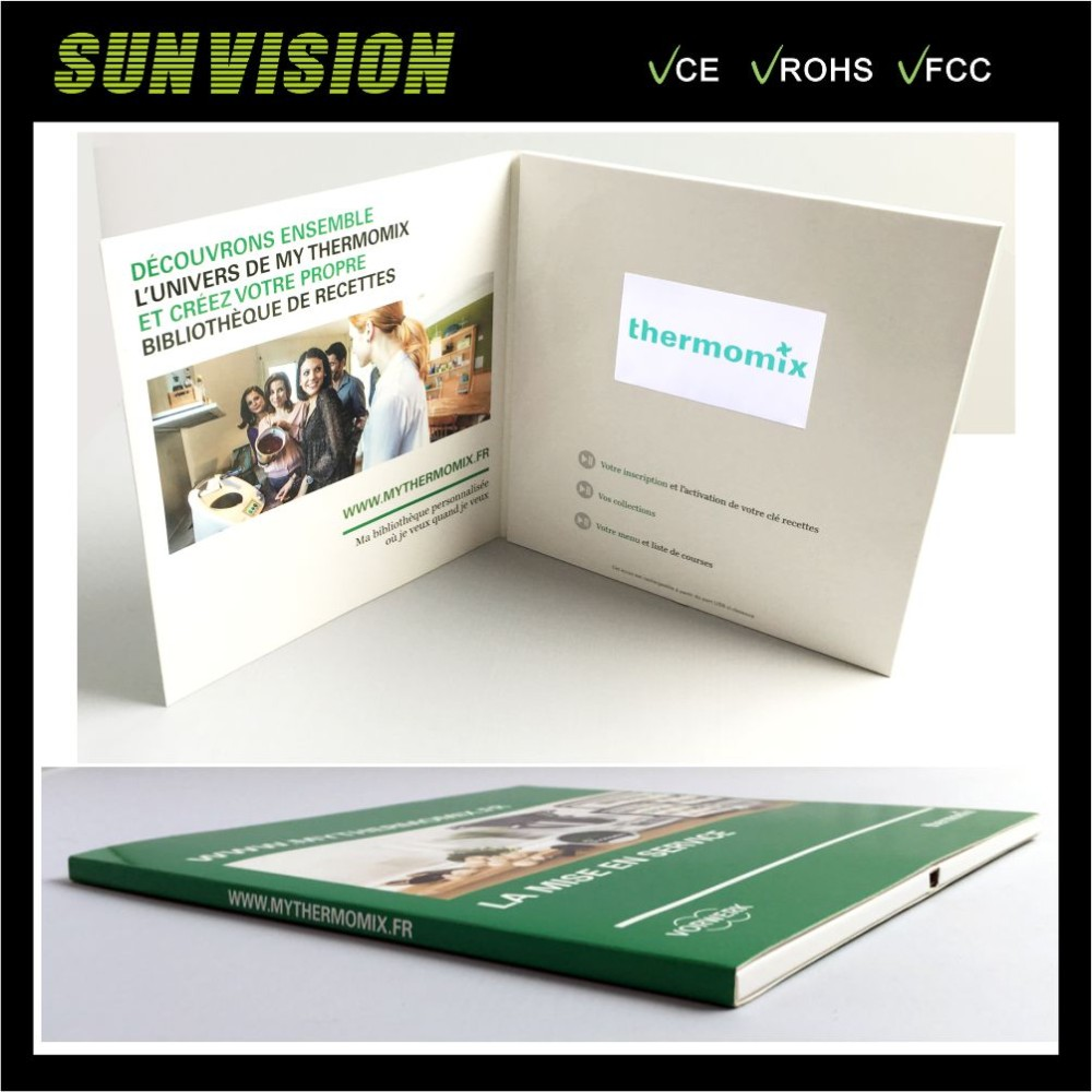 Greeting Card Type And 43inches Lcd Video Greeting Card Buy Video