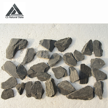 Natural slate crushed stone aggregate