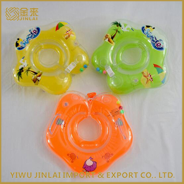 Hot Promotional sale PVC inflatable air floating swimming neck ring