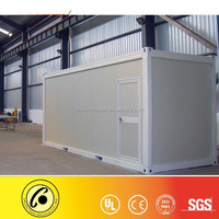 Waterproof and fast installation 2 storey container homes