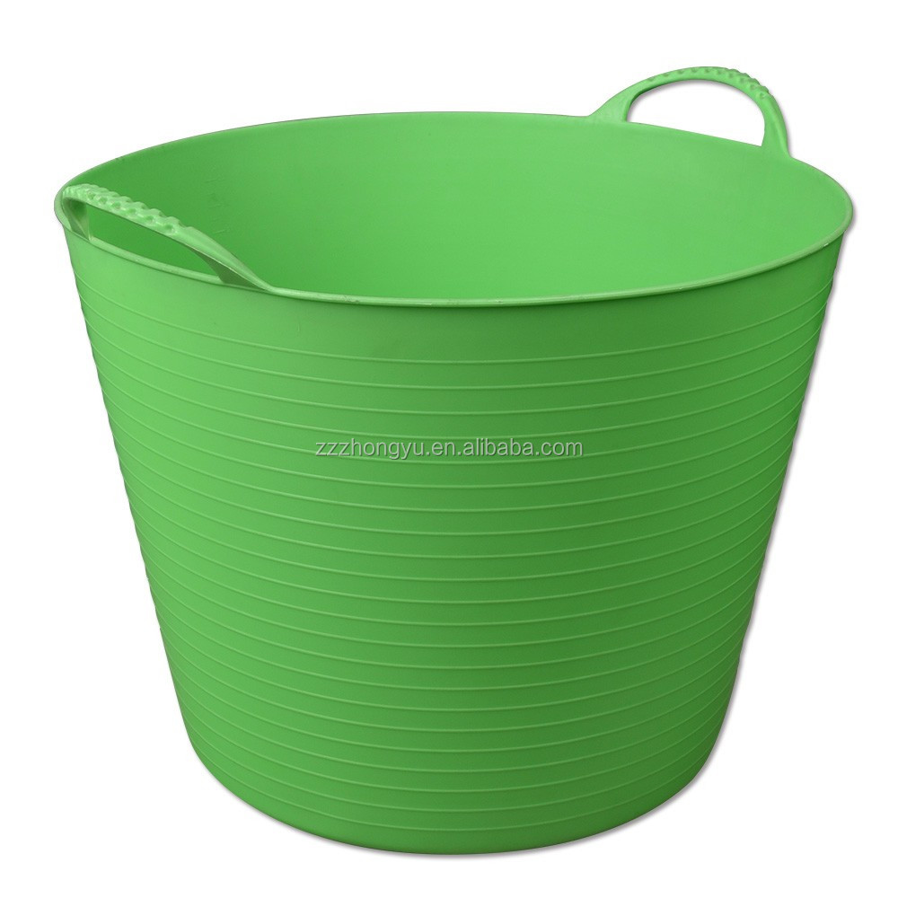 Cheap rubber horse feeding buckets