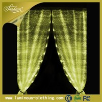fiber optic fabric luxury drapes curtains clearance stock lots