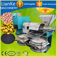 LK100 Best selling soybeans cooking oil making machine,hot press cooking oil making machine price