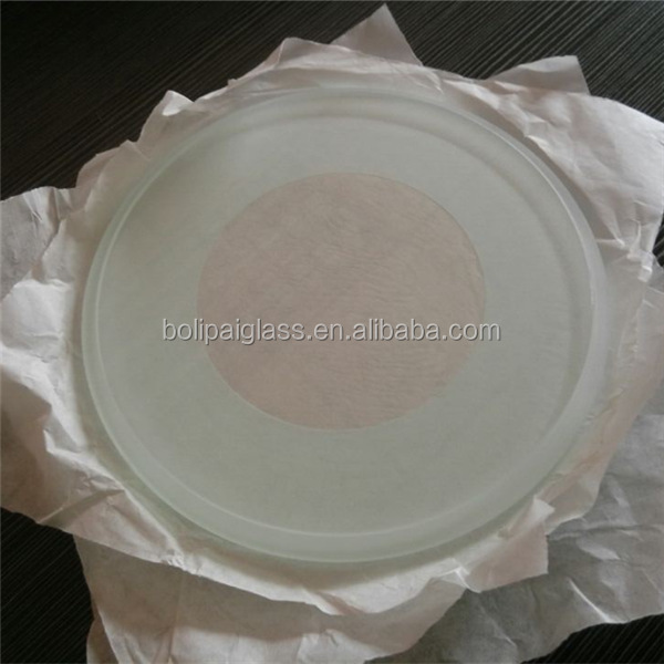 china good quality ultra clear tempered glass light cover