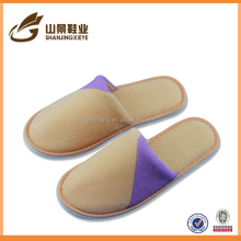 top quality personalized closed terry slipper bedroom shoe
