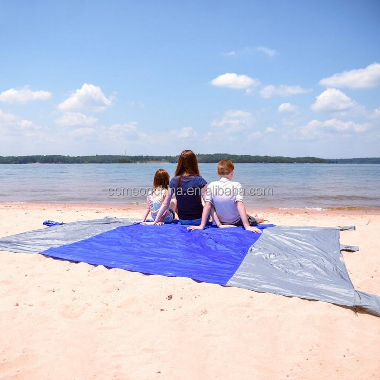 Mini Portable Beach Blanket Sand Proof