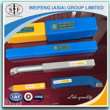 High Hardness Lathe tungsten Carbide brazed tipped turning tools bits