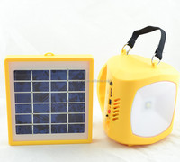 1 LED camping solar lantern flashlight rechargeable outdoor solar camping led light