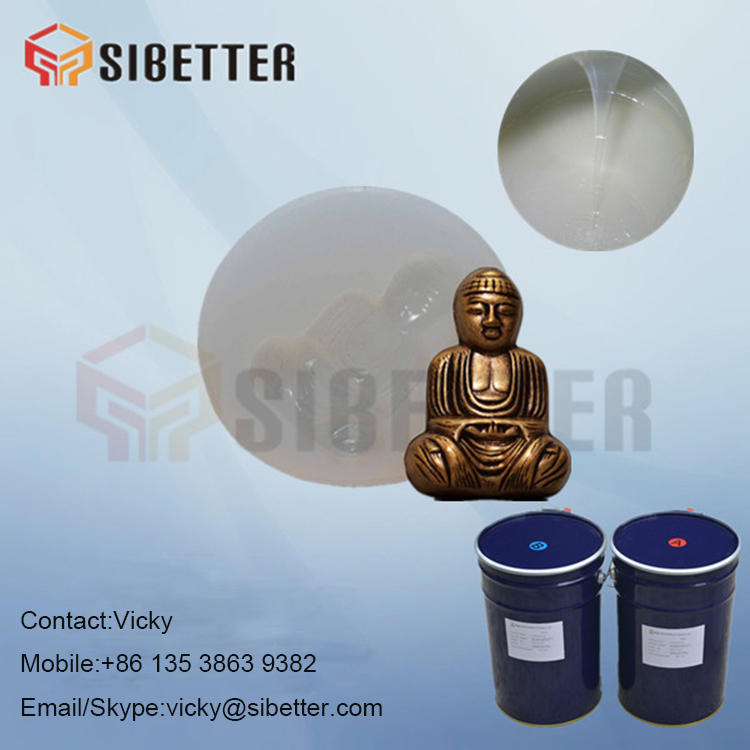 Room Temperature Vulcanized Platinum Cure Silicone Rubber for Jewellery Mold Casting