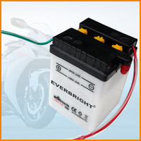 Large capacity electric bike battery china/ Motorcycle accessoriesfactory 6v4ah
