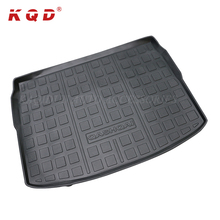 Unique hot pressed waterproof logo available car trunk floor cargo mat for Qashqai accessories 2016 body parts
