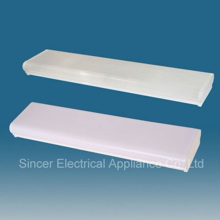 T8 Plastic fixture Decorative fluorescent luminaries