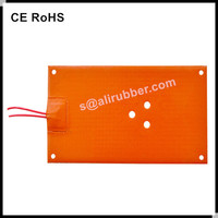 12V Battery Operated Silicon Rubber Heater Pad
