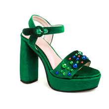 sandals shoes women 2017 chunky block heel platform summer sandals