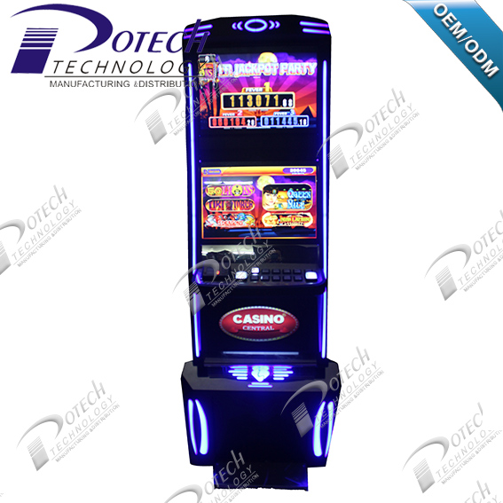 touch screen slot game machine card system jackpot gambling machine