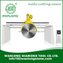 WANLONG Multiblade Block Cutting machine QSQ-2500 Hydraulic Type High-efficiency for Granite and Marble Block Cutting