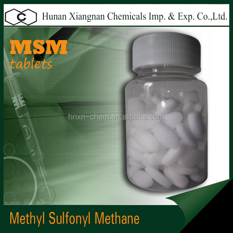 99.9% high purity MSM provide OEM service Methyl Sulfonyl Methane MSM