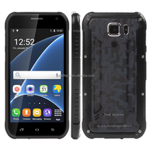 Rugged Style 5.0 Inch Screen Quad Core Dual SIM Card Tank S6 Active Slim Mobile Android Phone