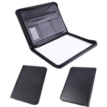 A4 Compendium Conference Portfolio Presentation Leather File Folder
