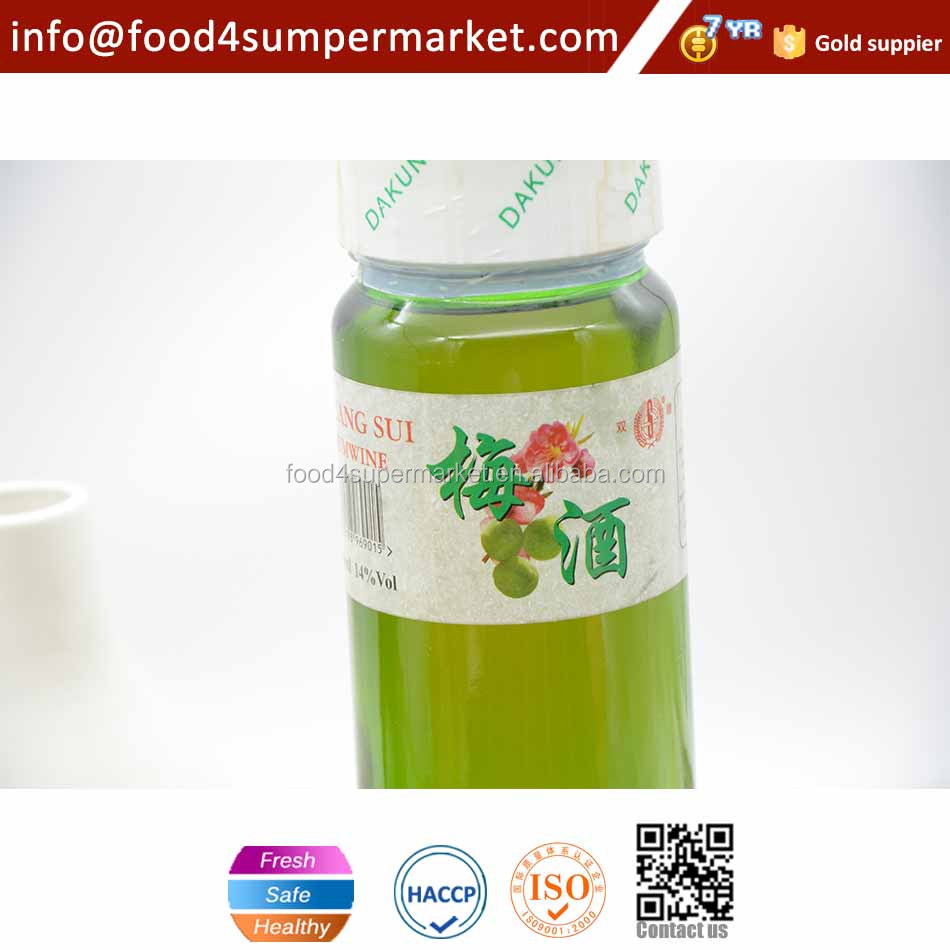 Japanese OEM low alcohol plum wine