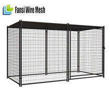 10' x 10' Dog Kennel Cover, with Frame,chain link fence dog kennel