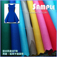 Nylon And Polyester Neoprene Fabric For