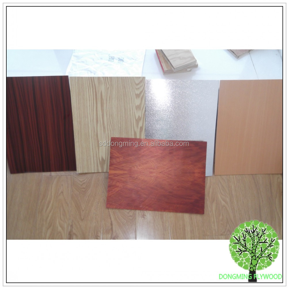 Paper Faced Plywood ~ Made in china birch plywood home decoration uv paper faced