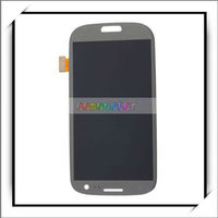 For Galaxy S3 iii i9300 LCD Touch Screen Digitizer Assembly Gray -82011343