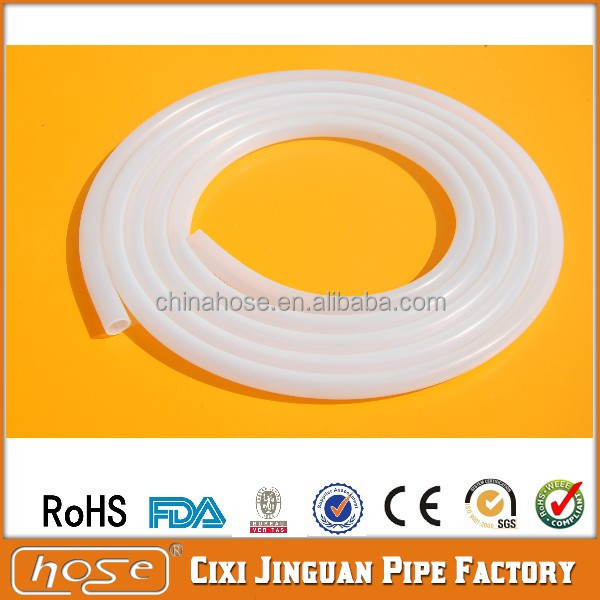 Supply UK, America USA FDA Milk Beer Water Medical & Food Grade Medical Silicone Tube /Silicone Pipe, Colored Silicone Hose