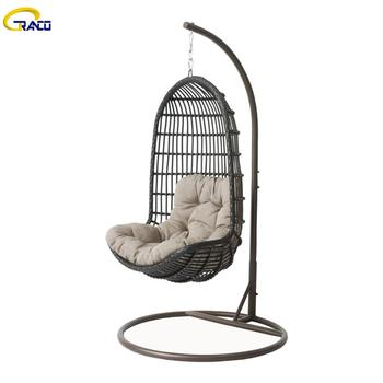 Best price leisure outdoor patio wicker rattan swing chair
