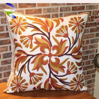 High Quality New Design Durable Factory Price Bridge Cover Ribbon Embroidery Covers cushion