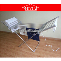 EVIA electric portable clothes dryers,heated clothes airer,automatic clothes drying rack made in China