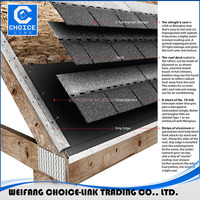 high quality roofing material asphalt shingles
