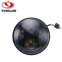 Round LED Driving Light Hi-Low beam LED Head Light for jeep wrangler