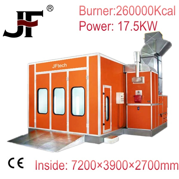 High quality and inexpensive waterborne spray paint booth providing by factory manufacturer