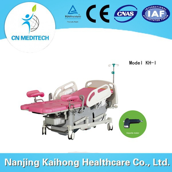 Labor operation delivery table bed