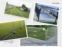 High quality Easy installation temporary dog fence,temporary fence base