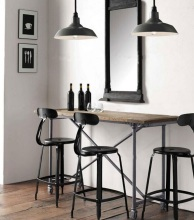 High quanlity cheap industrial metal bar chair
