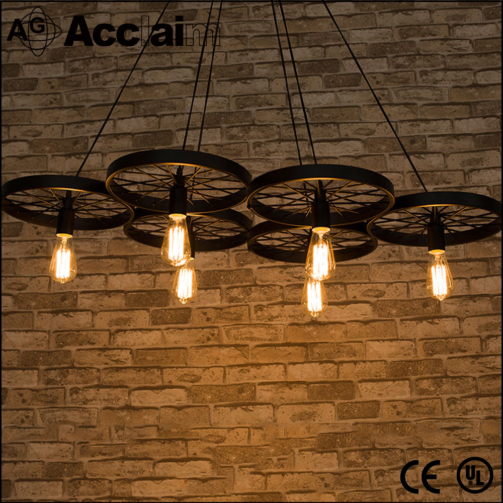 Incandescent wheel ceiling light for office