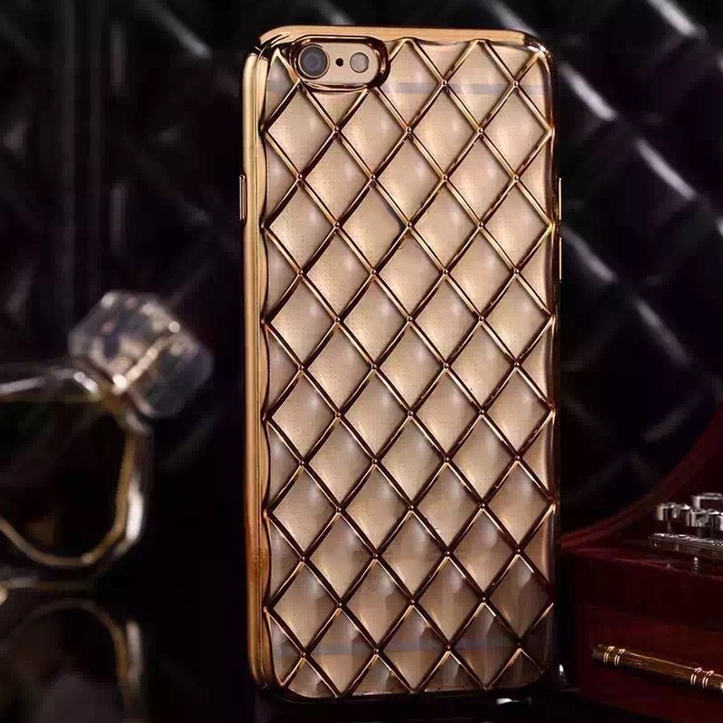 2016 Hotting and Newest design Electroplating soft tpu gel cover case for iphone 6