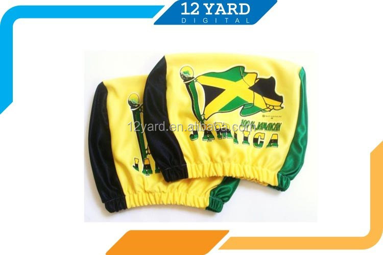 americas cup printed chile jamaica national flag car seat headrest cover polyester stadium seat. Black Bedroom Furniture Sets. Home Design Ideas