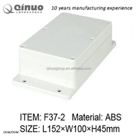 152*100*45mm ABS material IP66 IP67 waterproof electric control button box electrical casing