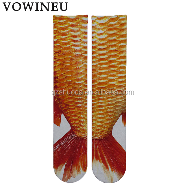 custom wholesale mens 3d high quality casual sublimation print novelty socks mens tube fashion dress socks