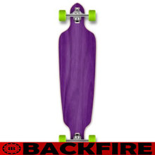 Backfire PURPLE Drop Through Complete Longboard Professional Speed skateboard 44*9
