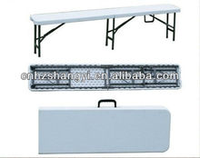 outdoor plastic folding bench