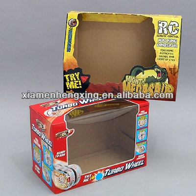 High quality long duration time paper toy box