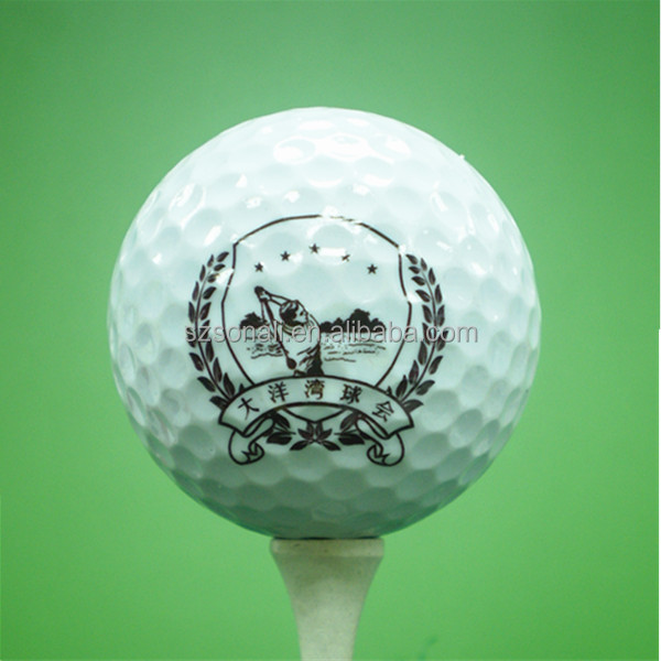2-piece range golf ball stamp