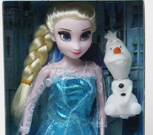 12inch anna and elsa disny frozen toys with olaf
