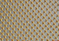 decorative double woven metal mesh curtain