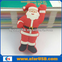 FatherChristmas usb flash drive cartoon for sales promotion